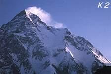 La seconda montagna più alta della terra è il k2 con i suoi 8611